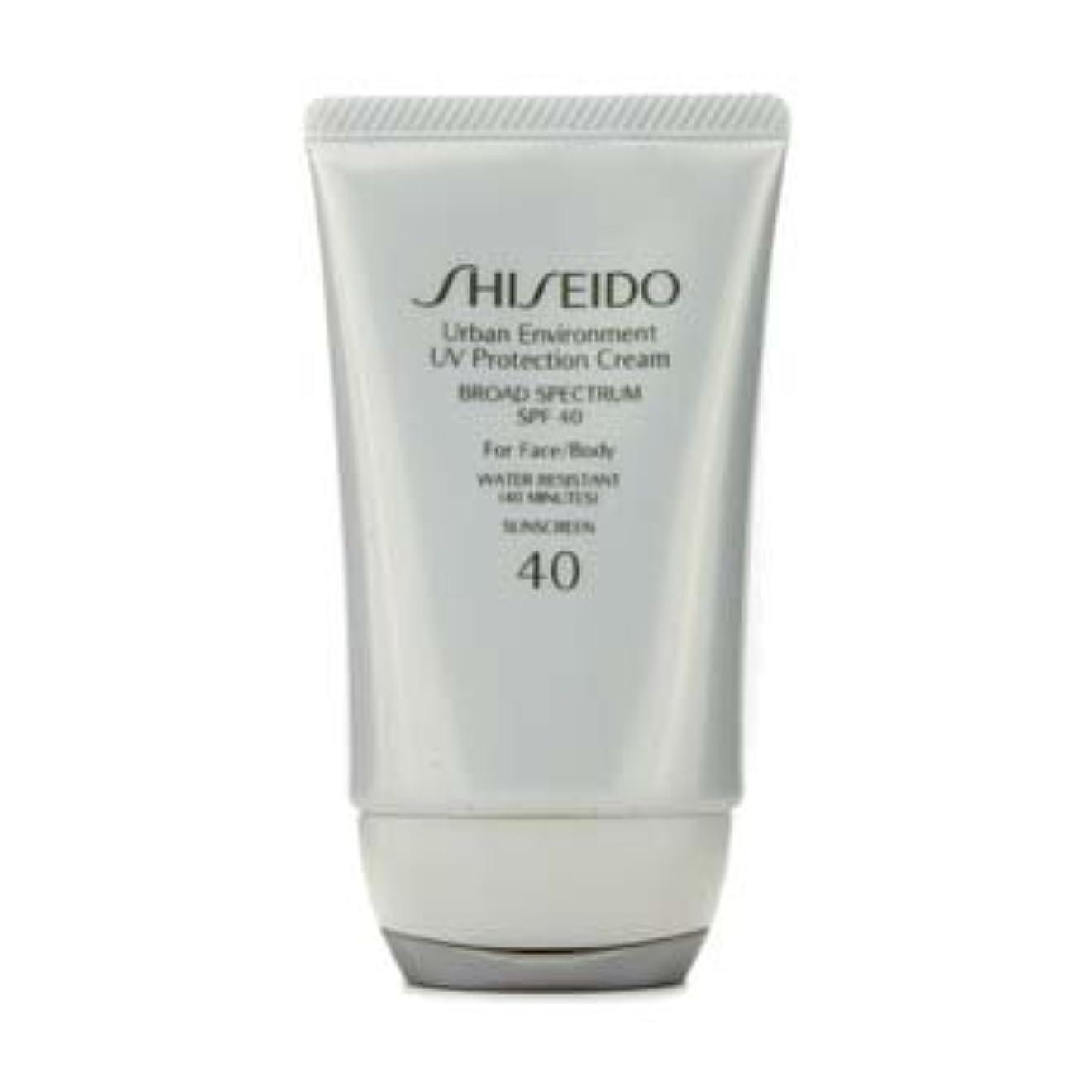 文言スタンド繊細Shiseido Urban Environment UV Protection Cream SPF 40 (For Face & Body) - 50ml/1.9oz by Shiseido [並行輸入品]