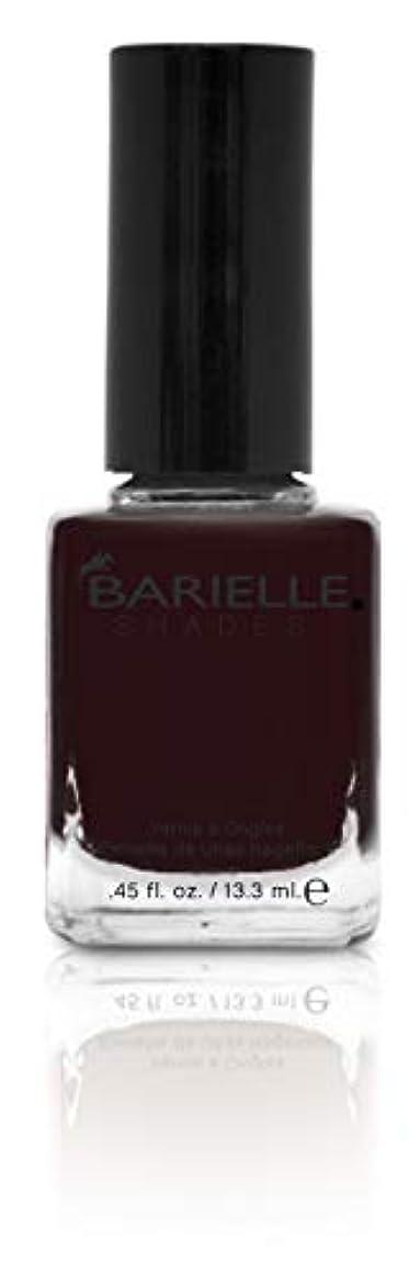 役に立たない発明プレートBARIELLE バリエル ブラックローズ 13.3ml Black Rose 5219 New York 【正規輸入店】