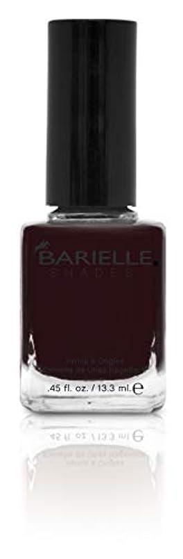 交渉する心理的二十BARIELLE バリエル ブラックローズ 13.3ml Black Rose 5219 New York 【正規輸入店】