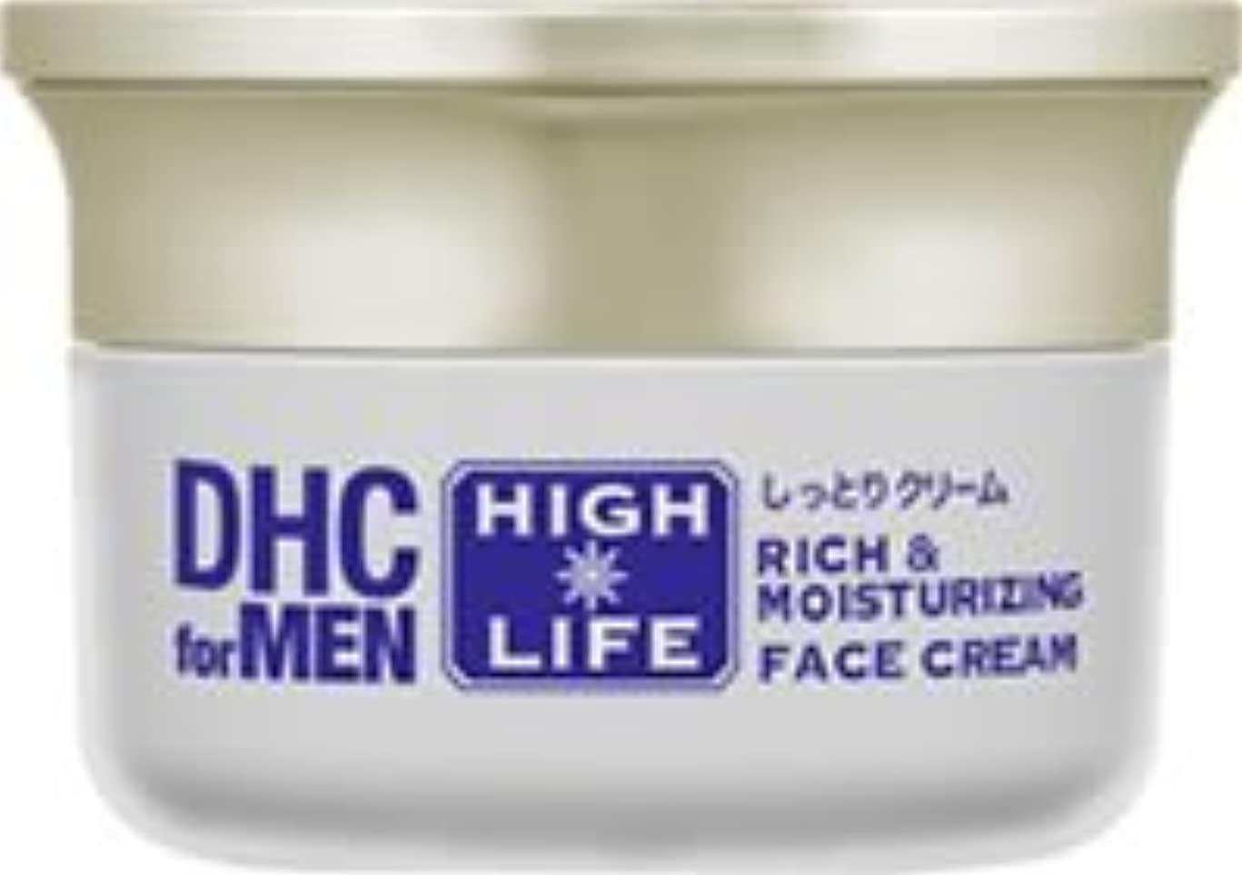 状況無駄ソーセージDHCリッチ&モイスチュア フェースクリーム【DHC for MEN ハイライフ】