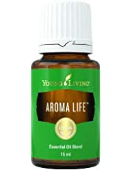 アロマライフ™は、イランイランの調和効果と既知の大手サイプレス、ヘリクリサム、マジョラムを組み合わせたものです。オイルブレンドはあなたの生命力を活性化し、リラックスをもたらします Aroma Life Essential...