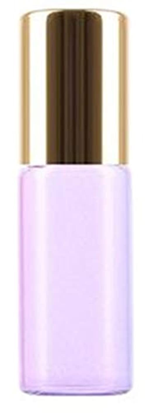 フラフープ核工夫するShopXJ 香水 詰め替え アトマイザー ロールオン タイプ 5ml 携帯 持ち運び ミニ サイズ (パープル)