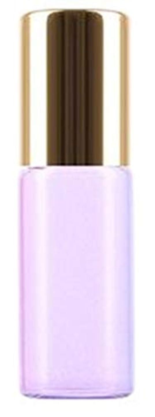 寮に対してめんどりShopXJ 香水 詰め替え アトマイザー ロールオン タイプ 5ml 携帯 持ち運び ミニ サイズ (パープル)