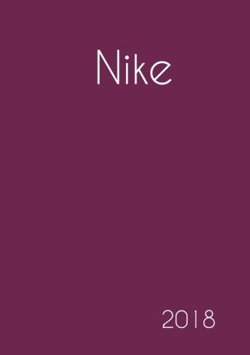 2018: Namenskalender 2018 - Nike - DIN A5 - eine Woche pro Doppelseite