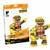 Paper Punk Teenage Mutant Ninja Turtle TMNT Michelangelo Pizza Build Your Own Paper Action Figure Toy Nickelodeon by Paper Punk