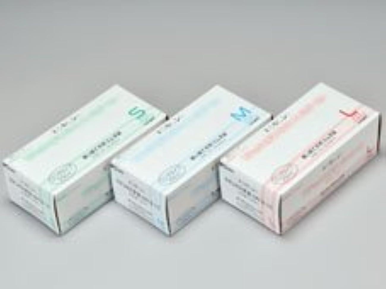 雄弁因子夜明けエクセレントラテックス手袋 NR-310PF Lサイズ 100枚入