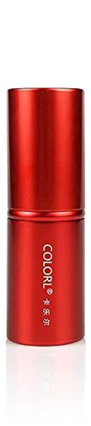 大混乱欠乏護衛COLORL メイクブラシ 1本 化粧ブラシ 化粧筆 ファンデーションブラシ フェイスブラシ パウダーブラシ 多機能 レッド