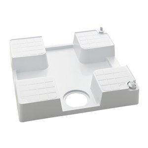 KVK ケーブイケー 水栓コンセント内蔵型防水パン(右仕様)【SP1390N-R】