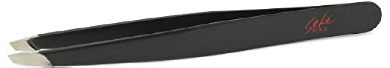 圧縮された比べる音Seki EDGE ステンレス毛抜き(先斜) SS-500