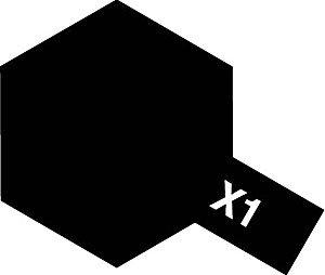 タミヤカラー アクリルミニ X-1 ブラック 光沢