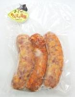 やんばる島豚あぐー ≪黒豚≫ 手作りソーセージ 3本入×3P フレッシュミートがなは 沖縄県産あぐー豚肉を使用したジューシーなソーセージ