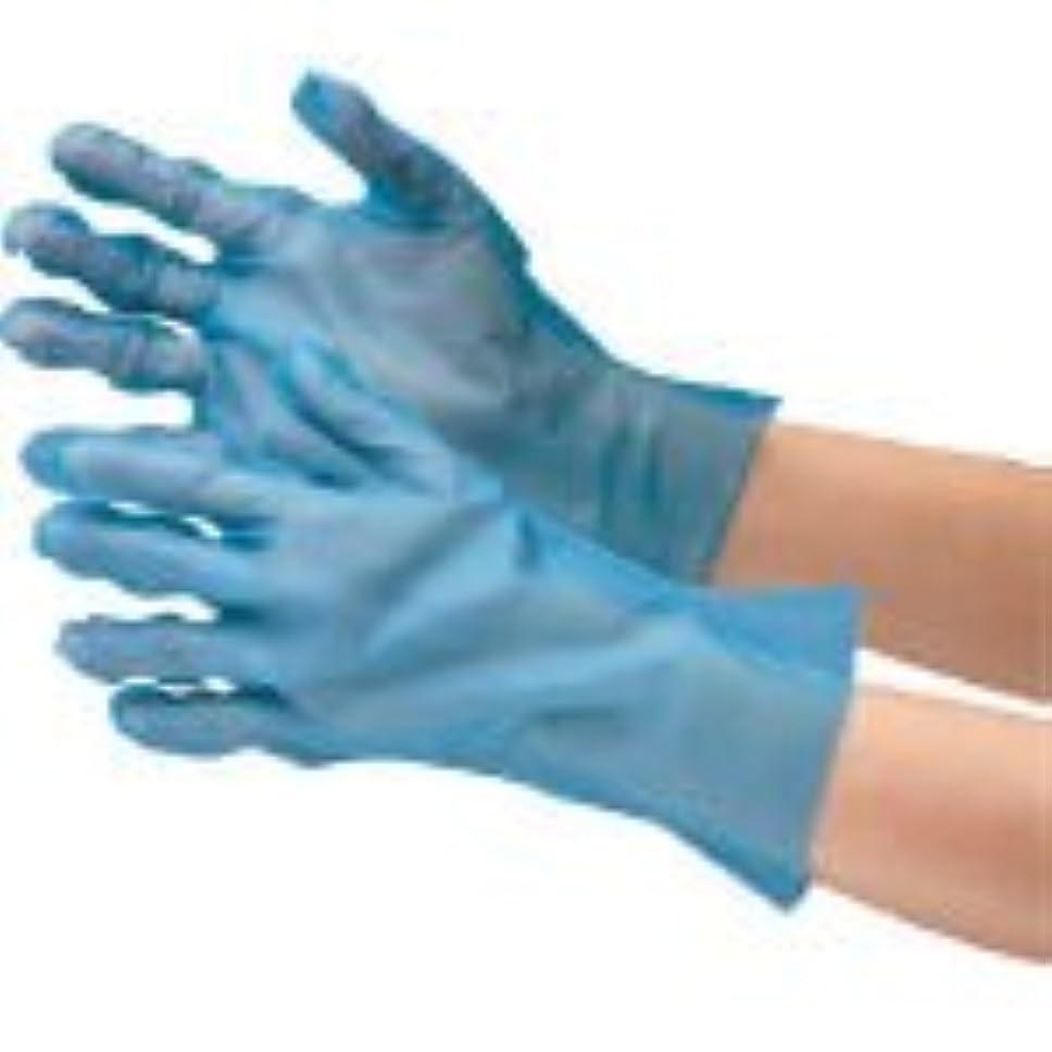 パイに対して改修するミドリ安全/ミドリ安全 ポリエチレン使い捨て手袋 外エンボス 200枚入 青 S(3915310) VERTE-576-S
