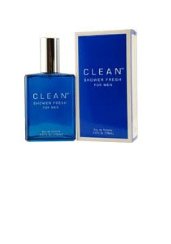 決定ハングプラスチックClean Shower Fresh (クリーン シャワーフレッシュ) 3.4 oz (100ml) EDT by CLEAN for Men