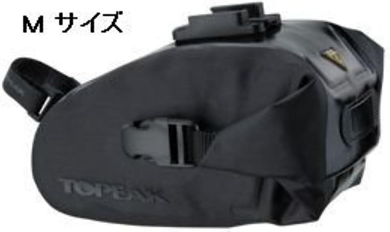 プランター乱れとティームTOPEAK Wedge DryBag (QuickClick) M size (サドルバッグ) トピーク ウェッジドライバッグ (クイッククリック) Mサイズ 防水仕様 (コード番号:BAG27001) Mサイズ(BAG27001)