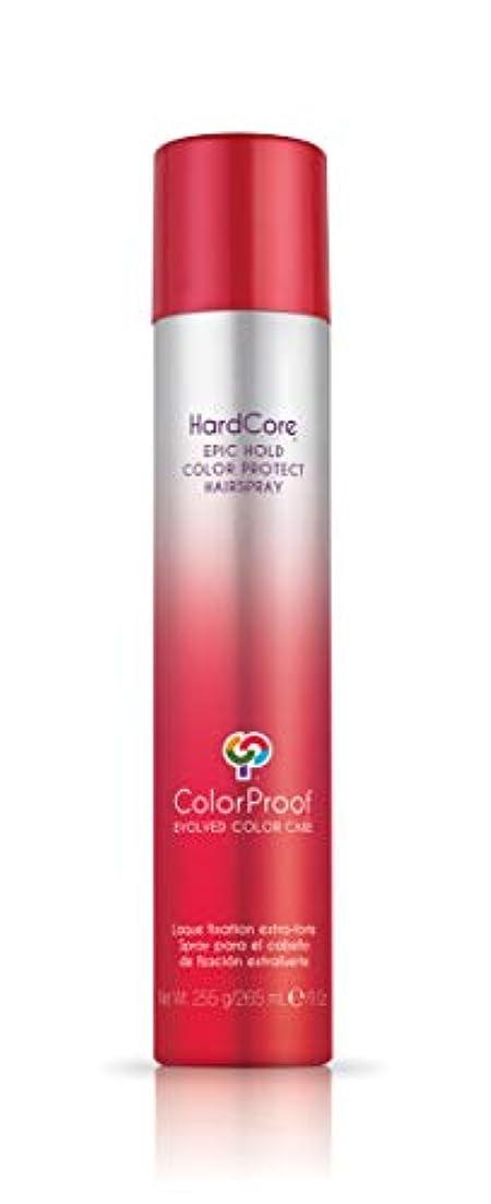 ピンひねくれたシーサイドColorProof Evolved Color Care ColorProof色ケア当局ハードコアエピックカラーは、ヘアスプレーを守るホールド、9オズ オレンジ
