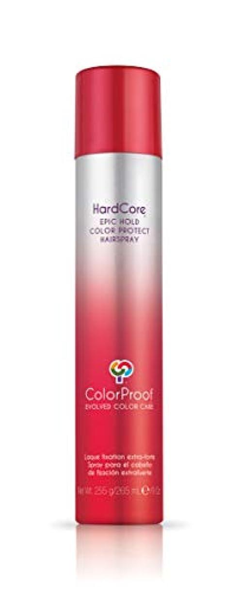 学ぶ神秘威するColorProof Evolved Color Care ColorProof色ケア当局ハードコアエピックカラーは、ヘアスプレーを守るホールド、9オズ オレンジ