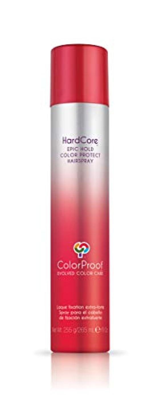 怖がって死ぬ列車海港ColorProof Evolved Color Care ColorProof色ケア当局ハードコアエピックカラーは、ヘアスプレーを守るホールド、9オズ オレンジ