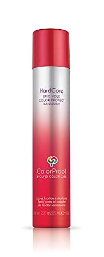 ColorProof Evolved Color Care ColorProof色ケア当局ハードコアエピックカラーは、ヘアスプレーを守るホールド、9オズ オレンジ