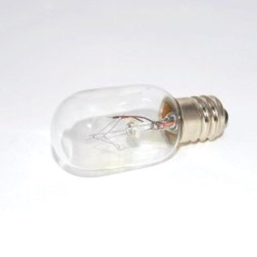 トレッド差し迫った蒸留するアロマライト電球 E12 10W クリアー