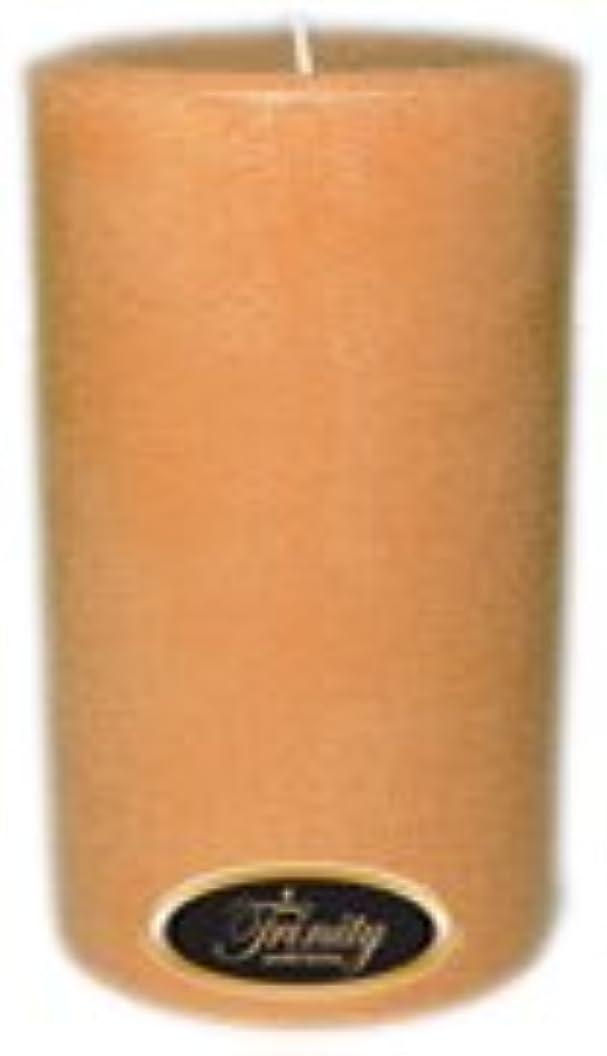 動作時計デジタルTrinity Candle工場 – Cedar Wood – Pillar Candle – 4 x 6