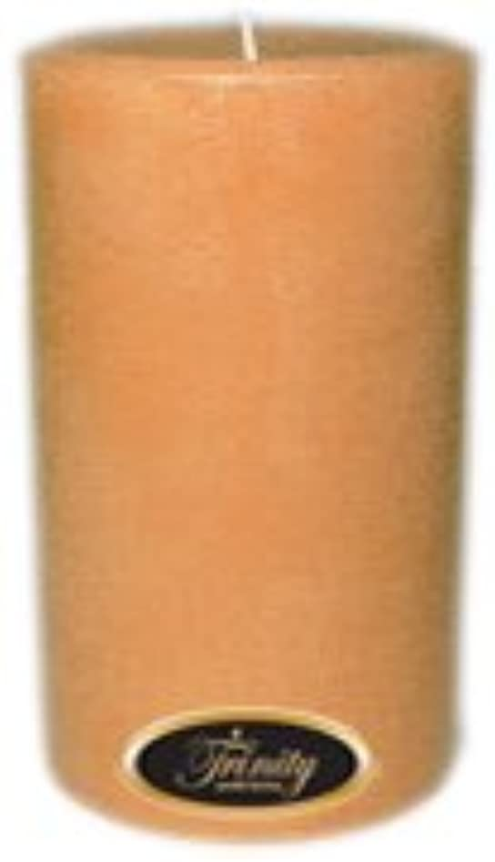 神秘的なワット民間人Trinity Candle工場 – Cedar Wood – Pillar Candle – 4 x 6