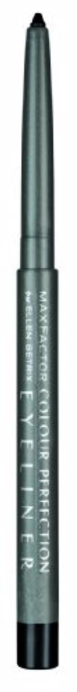 ブラインド縫う金銭的なMax Factor Colour Perfection Eyeliner 020 Black