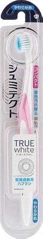 腹部違反する酸素【まとめ買い】シュミテクトトゥルーホワイトハブラシコンパクト1本 ×6個