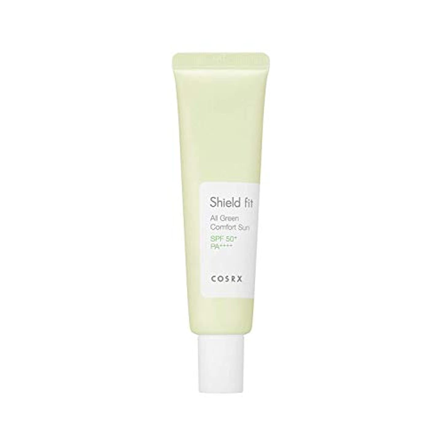 周囲皮肉な遅らせるCOSRX シールドフィットオールグリーンコンフォートサン 35ml SPF50+ PA++++ コースアールエックス Shield Fit All Green Comfort Sun