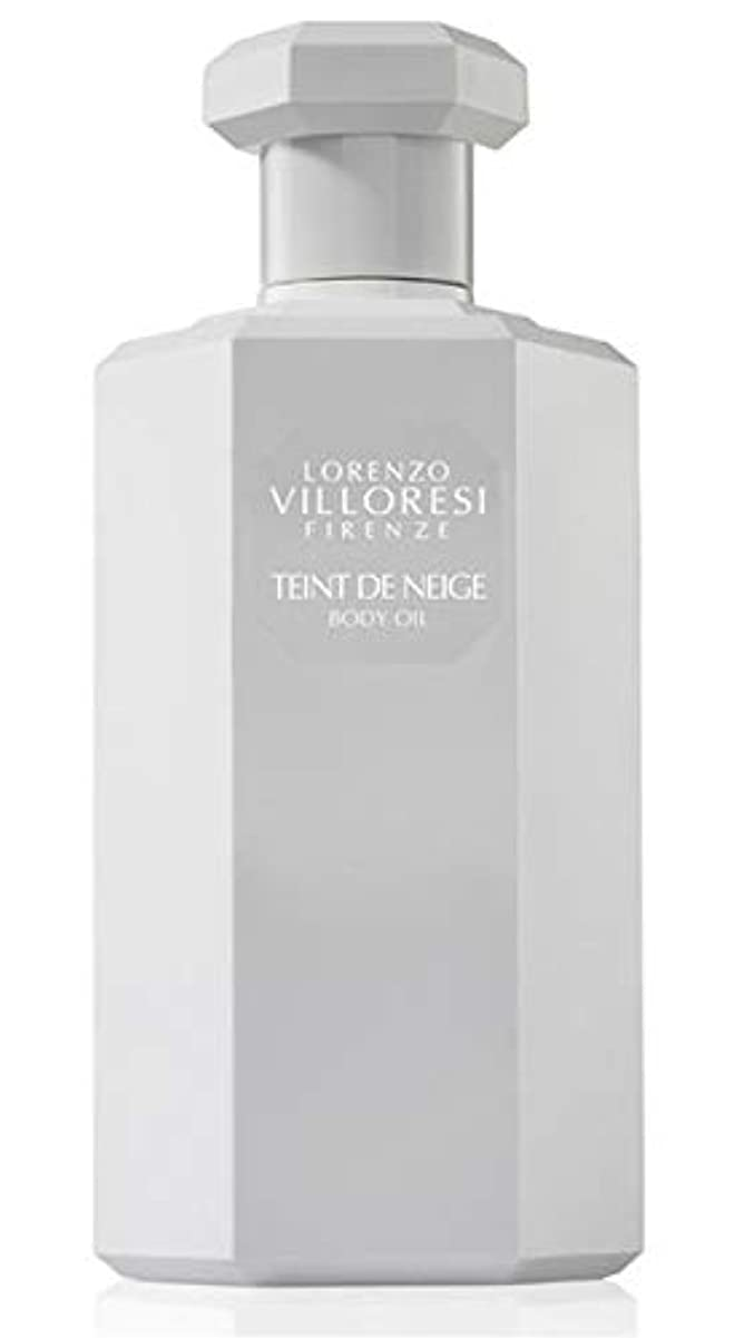 間違いなく六月反対Lorenzo Villoresi Teint De Neige Body Oil 250 ml New in Box