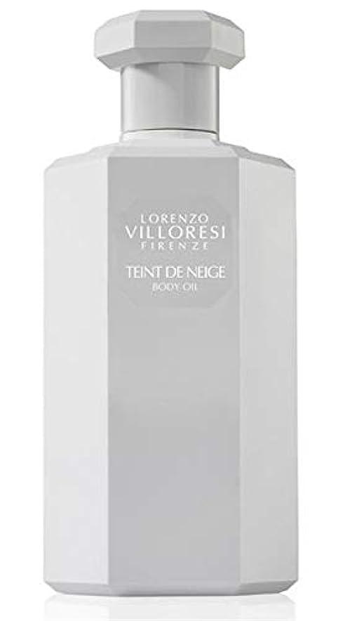 地元スキールーキーLorenzo Villoresi Teint De Neige Body Oil 250 ml New in Box