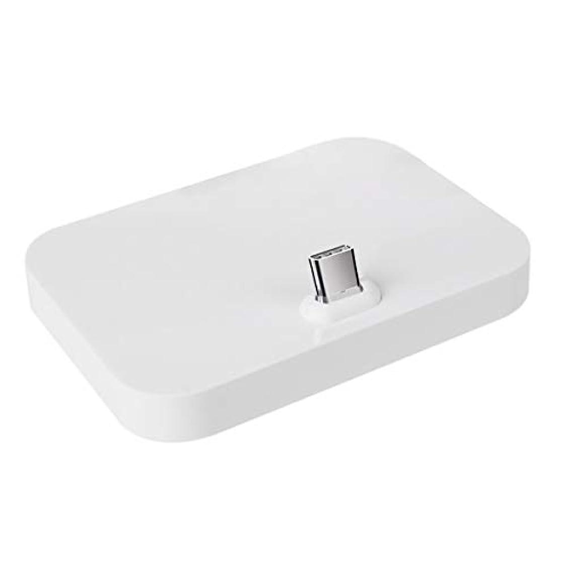解明地下室ホールiqos互換用 充電スタンド チャージャー クレードル アイコス対応 multi/任天堂スイッチ(switch)対応 【Tyep C対応】 オフィス ホワイト
