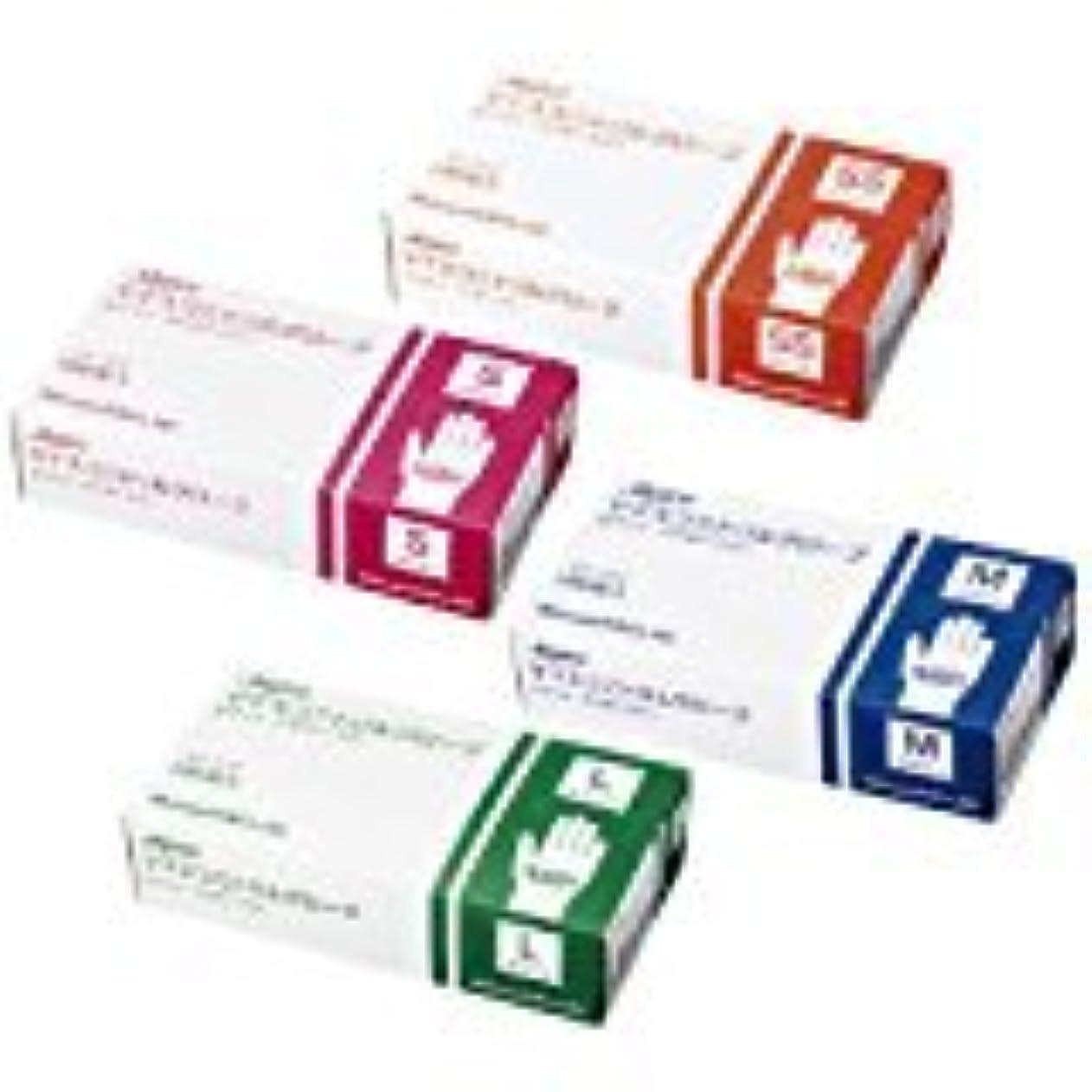 懲らしめチャペル聴覚障害者マイスコ ニトリルグローブ ホワイト MY-7552(M)100???? 10箱セット