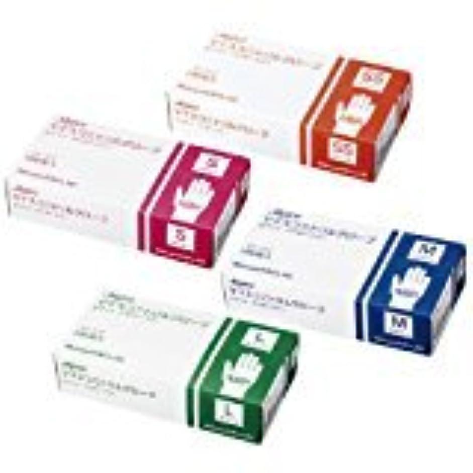 セクタベジタリアン食べるマイスコ ニトリルグローブ ホワイト MY-7552(M)100???? 10箱セット