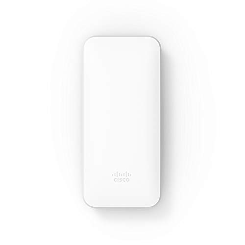 Cisco Meraki Go 屋外用 無線LAN Wi-Fiアクセスポイント (IP67防塵防水/デュアルバンド/802.11ac) +利用ライセンス1年分付 GR60-1YSET【Amazon.co.jp 限定】