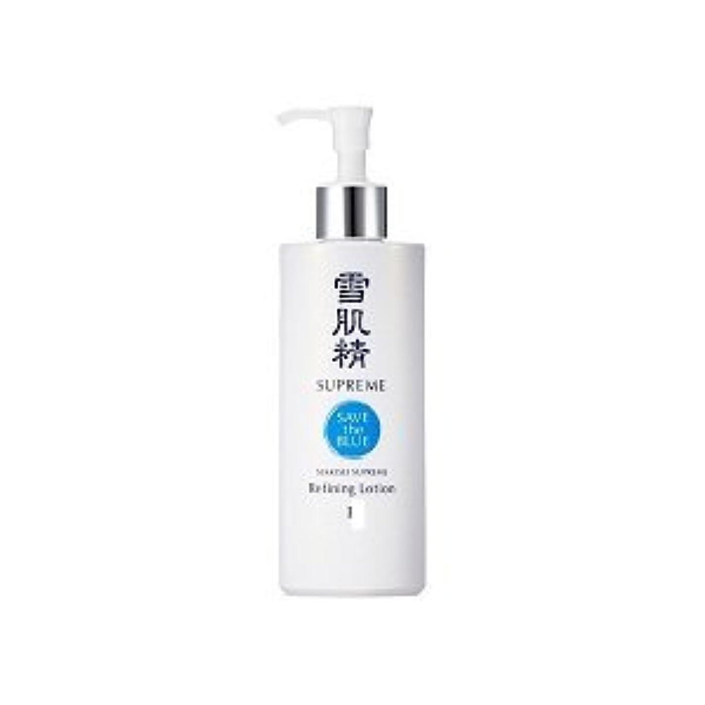 フォアタイプタイル異なるコーセー 雪肌精シュープレム 化粧水 I 400ml