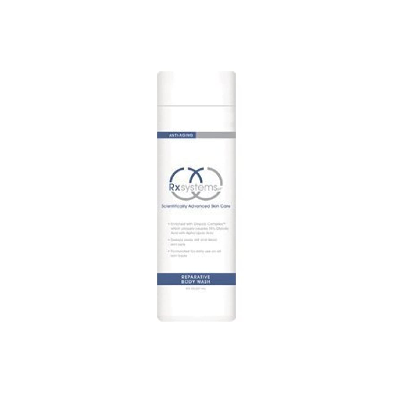 劣る値下げハンバーガーRx Systems Reparative Body Wash by Rx Systems