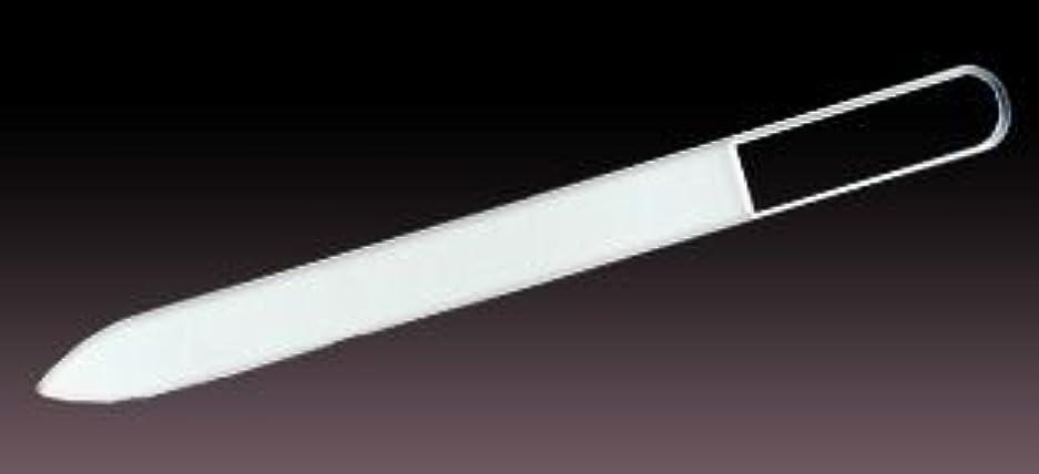 苦しむヘロインマグブラジェク ガラス爪やすり  プレーン  140mm チェコ製ガラス爪ヤスリ BLAZEK