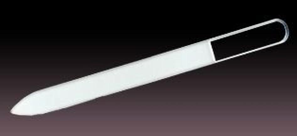 構造的ナイトスポットに賛成ブラジェク ガラス爪やすり  プレーン  140mm チェコ製ガラス爪ヤスリ BLAZEK