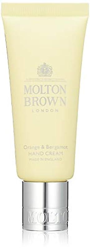 上に築きますおっとボアMOLTON BROWN(モルトンブラウン) オレンジ&ベルガモット コレクション O&B ハンドクリーム