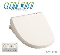 東芝 貯湯式温水洗浄便座 クリーンウォッシュ SCS-T275 パステルアイボリー・壁リモコンタイプ