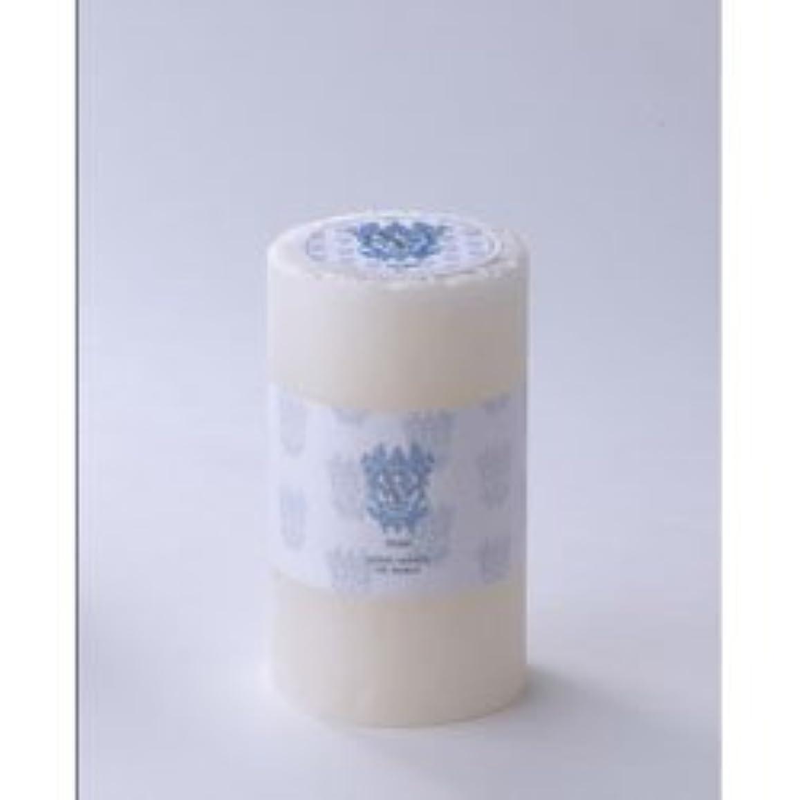 談話ぴったりアルファベットビクトリアン ピラーキャンドル Victorian pillar candle S ピュア