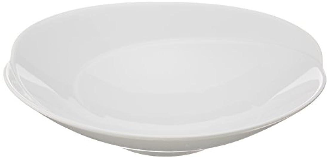 凍ったリンス約設定白山陶器 浅鉢(中) 白磁 (約)17×3.8cm ともえ TOMOE 波佐見焼 日本製 ama-456339