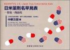 日米薬剤名早見表―一般名・商品名