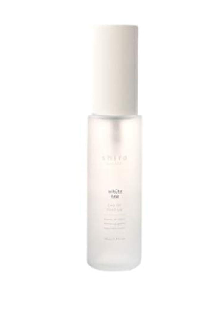 ベル良い野生shiro シロ ホワイトティー オードパルファン 香水 40ml (長時間持続)ギフト包装品 ショップバッグ付