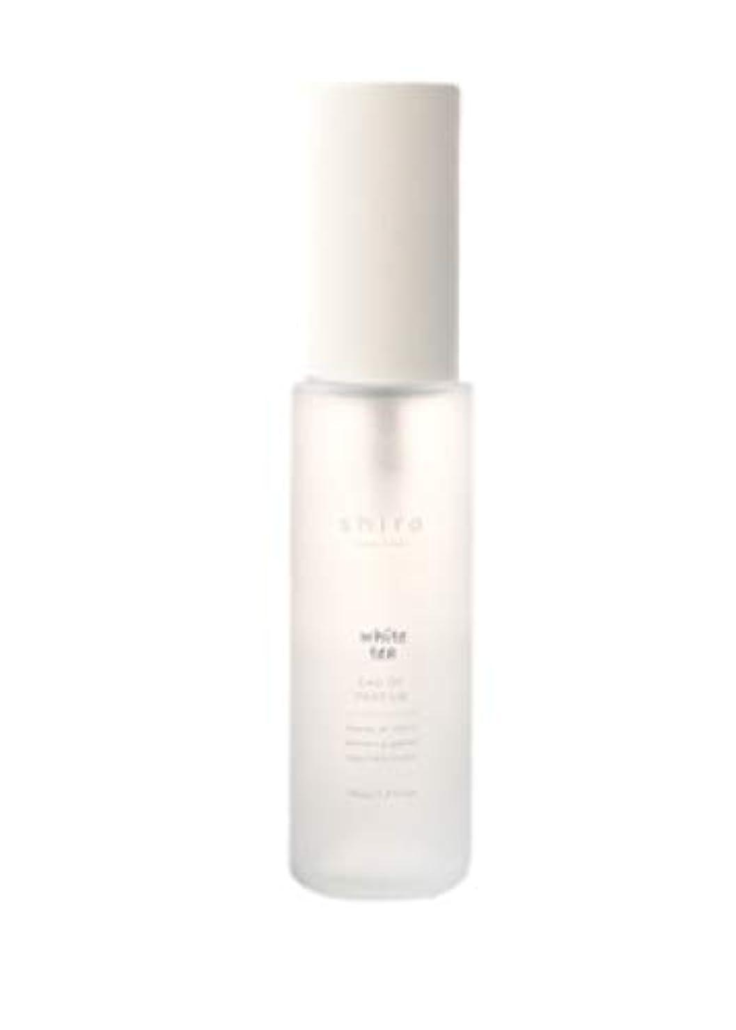 応答表現電気shiro シロ ホワイトティー オードパルファン 香水 40ml (長時間持続)ギフト包装品 ショップバッグ付