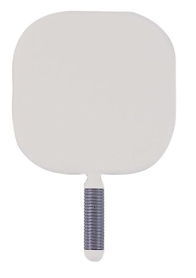 レバー知り合い道リビエール 角型 ハンドミラー Y-1403 ホワイト