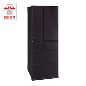 RoomClip商品情報 - 三菱 6ドア冷蔵庫 「置けるスマート大容量 JXシリーズ」(605L) MR-JX61Z-RW ロイヤルウッド