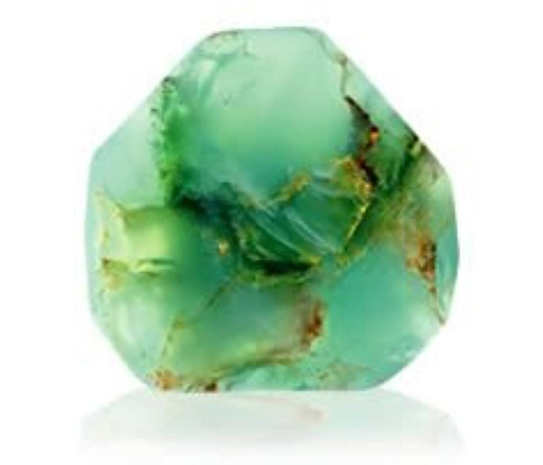 割合請負業者月面Savons Gemme サボンジェム 世界で一番美しい宝石石鹸 フレグランスソープ ジェイド 170g