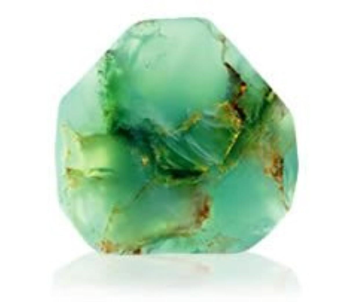 マーカー反毒フィードSavons Gemme サボンジェム 世界で一番美しい宝石石鹸 フレグランスソープ ジェイド 170g