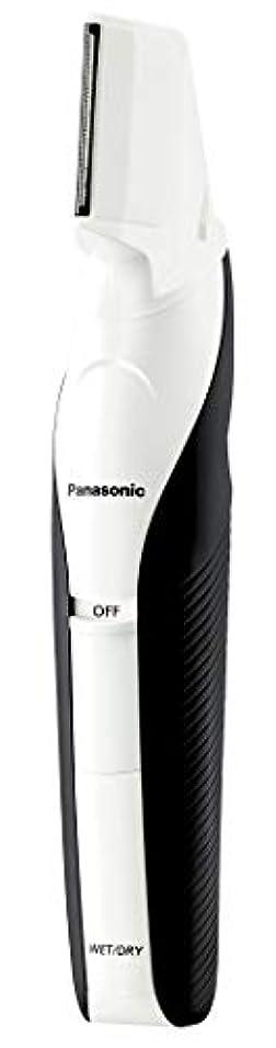 マイクロフォン製油所こんにちはパナソニック ボディトリマー お風呂剃り可 男性用 白 ER-GK60-W